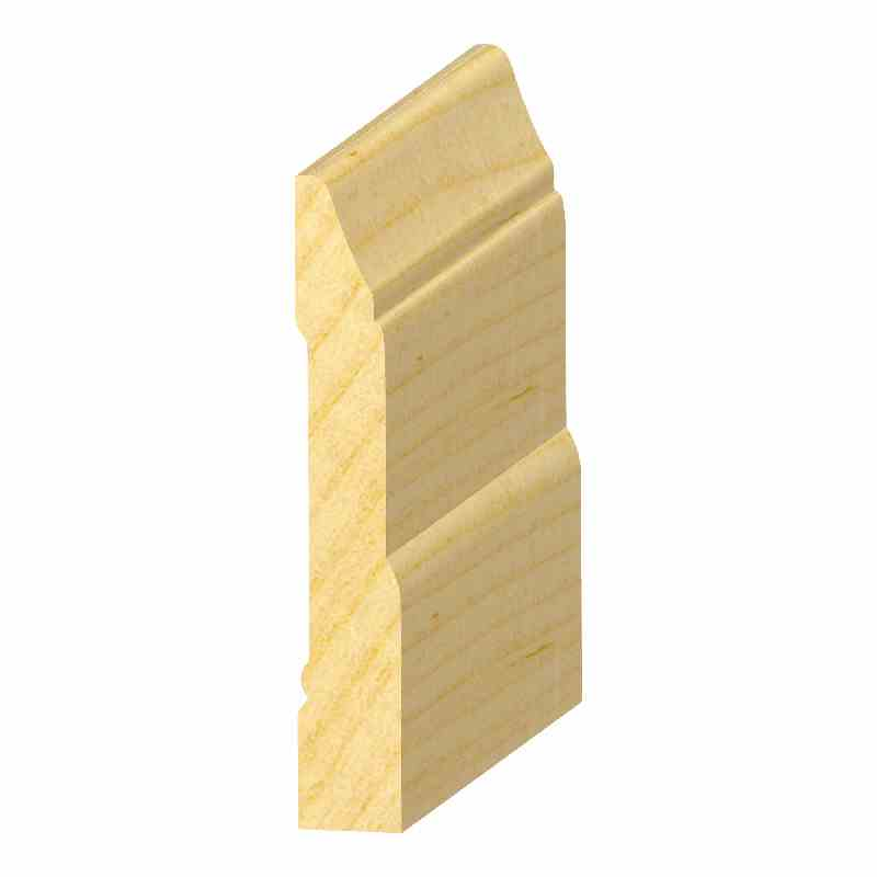 "9/16x3-1/2"" SO. PINE COLON. BASE - Mission Moulding, Inc."