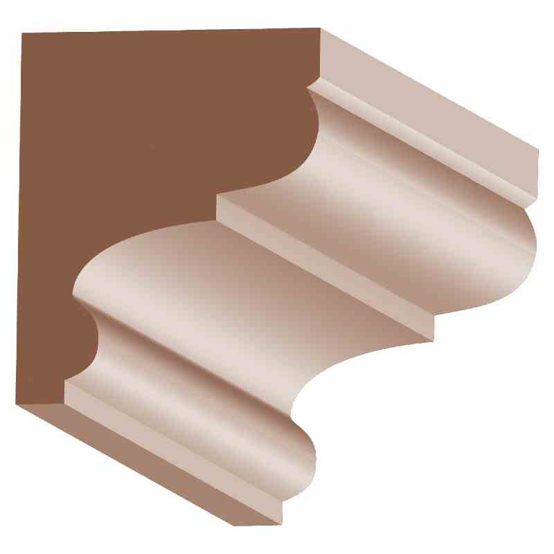 1-1/2x1-3/4 OAK BED MOLD - Mission Moulding, Inc.