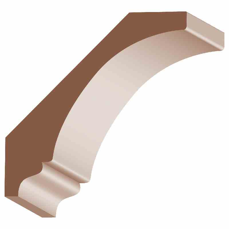 SPEC. ORD. 5/8x2-1/2 OAK CORNICE - Mission Moulding, Inc.