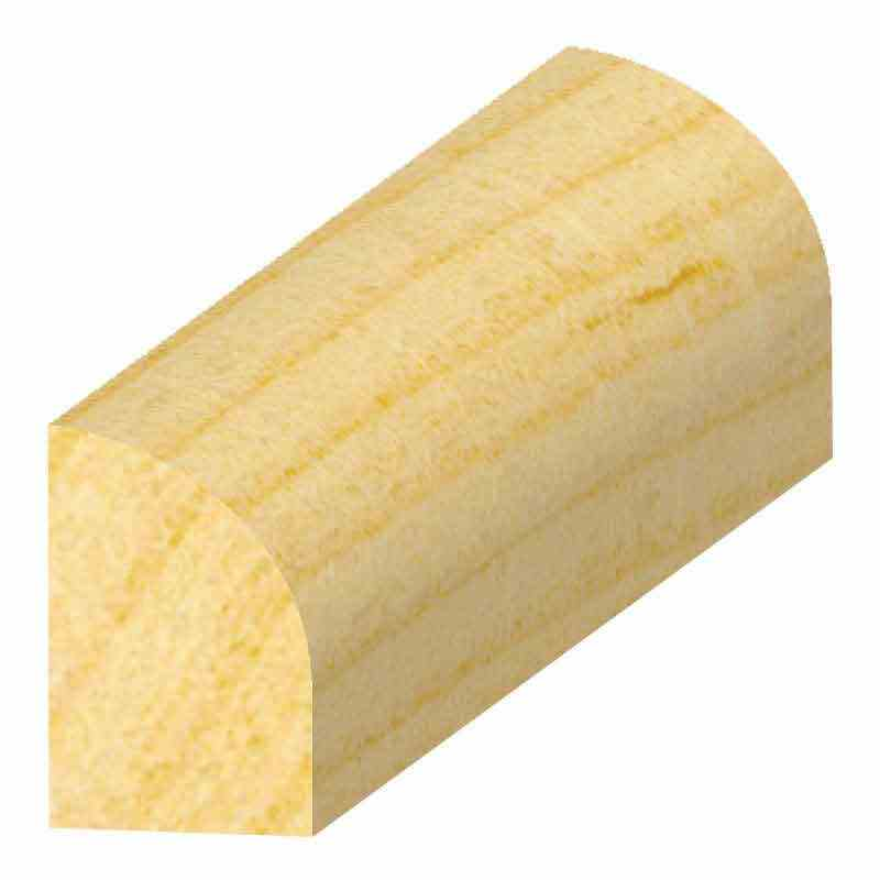 "3/8x3/4"" SOLID PINE BASESHOE - Mission Moulding, Inc."