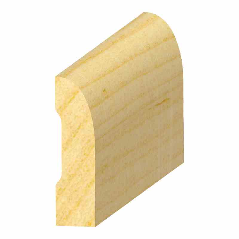 "7/16x1-5/8"" SOLID PINE S/L BASE - Mission Moulding, Inc."