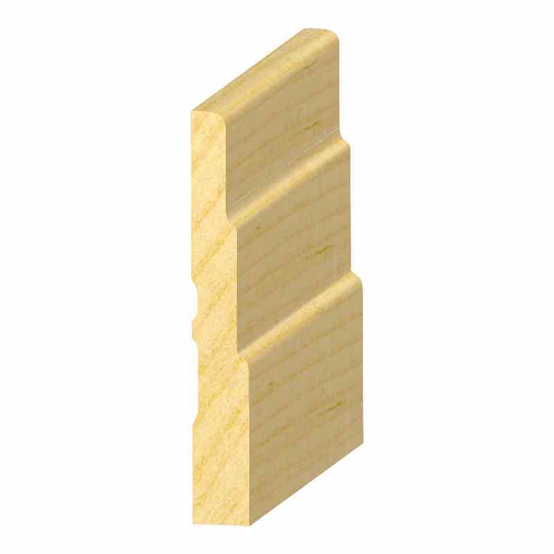"1/2x3-1/2""SOLID PINE 3-STEP BASE - Mission Moulding, Inc."