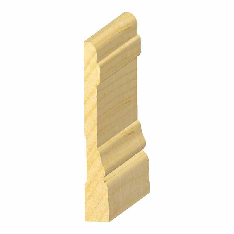 "9/16x4-1/4"" SO. PINE COLON. BASE - Mission Moulding, Inc."