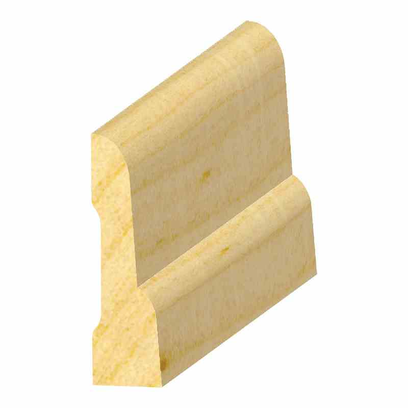 "7/16x1-9/16"" SO. PINE COMBO BASE - Mission Moulding, Inc."