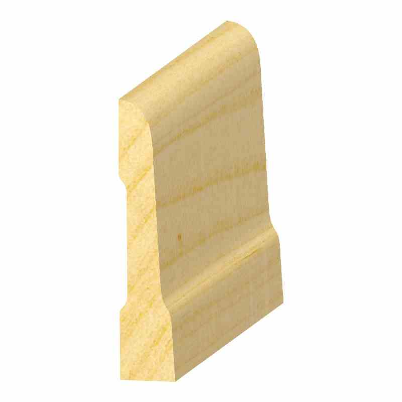 "1/2x2-1/2"" SO. PINE COMBO BASE - Mission Moulding, Inc."
