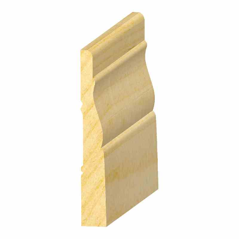 "1/2x3-1/4"" SOLID PINE #356 BASE - Mission Moulding, Inc."